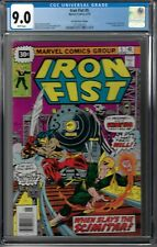 Iron Fist # 5 CGC 9.0 WP 30 Cent Price Variant, 1st app. of the Scimitar