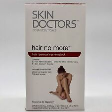 """Skin Doctors Hair Removal """"Hair No More"""" System Pack #7322 LEAKED DAMAGED BOX"""