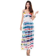 Bodenlange Damenkleider im Boho -/Hippie-Stil in Größe 42