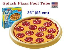 Wham-O Splash Pizza Inflatable Pool Float, Water Toy, Summer Toy, Pizza Float