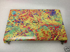 """Dell Inspiron 15 1555 LCD Back Cover Lid 15.6"""" Designer +Power button  Y528N"""