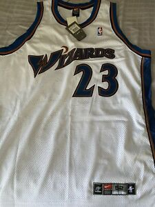 Brand New W/TAG MICHAEL JORDAN WIZARDS NIKE 52 Authentic JERSEY Home White