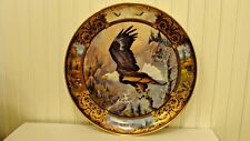 """Rare The Franklin Mint Heirloom Plate """"Born To Be Free"""" by Ted Blaylock 12.2"""""""