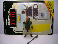 Star Wars vintage figurine weequay + card  kenner model c-LFL 1983 HK occ