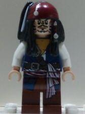 x1 NEW Lego Captain Jack Sparrow CANNIBAL Minifig Pirates of the Caribbean 4182