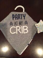 Baby Bib 2 Pc Set, Party at Crib