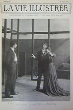 JOURNAL LA VIE ILLUSTREE N° 196 de 1902 COULISSES DU CONSERVATOIRE PAUL MOUNET