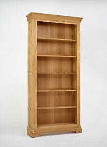 Normandy Oak 6ft Bookcase
