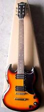 Full Size Electric Guitar,Double Cutaway,  Sunburst, CEG-12-SB