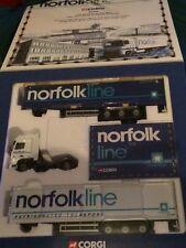 Corgi diecast lorry - Norfolk line commemorative box set