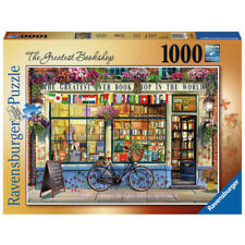 Ravensburger The Greatest Book Shop Jigsaw Puzzle (1000 Piece) - 15337 - NEW