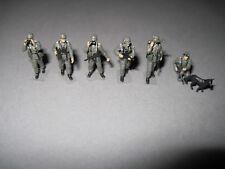 Preiser, Wehrmacht, soldats, 1:87,ww2,edw, Liasse, h0, collection, diorama, Military!!!