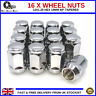16 x Alloy Wheel Nuts 12X1.25 Tapered For Nissan Micra (2010-16) [MK4]