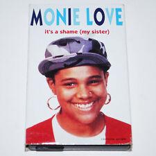 Monie Love It's A Shame Remix Cassingle Rap Tapes '90 Hip Hop Native Tongues