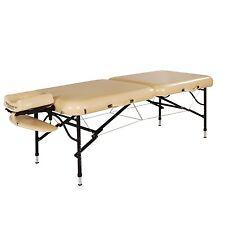 "Master Massage 30"" ProAir Light Weight Aluminum Portable Table Package Mushroom"