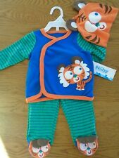 BNWT baby boy Nuby tiger 3-piece outfit. 0-3 months           (2/2)