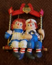 Raggedy Ann Andy Danbury Mint 2008 Christmas Ornament With Box No Coa