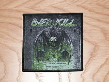 OVERKILL - WHITE DEVIL ARMORY (NEW) SEW ON PATCH OFFICIAL BAND MERCHANDISE