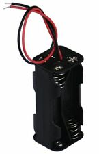 AA Battery Holder, 4 x AAA with wire tails. [2 x 2] . . . NEW