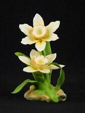 "Andrea by Sadek Porcelain ""Daffodil Flower"" Figurine"