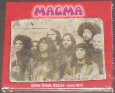 MAGMA Zühn Ẁöhl Ünsaï Live 1974 GERMANY 2-CD new sealed JAZZ ROCK