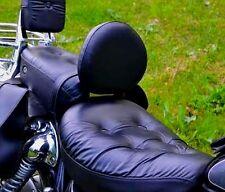 STAINLESS STEEL DRIVER RIDER BACKREST YAMAHA XV 535 XV535 VIRAGO
