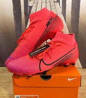 Nike Mercurial Superfly 7 Academy FG MG Laser Crimson AT7946-606 Mens Multi Size