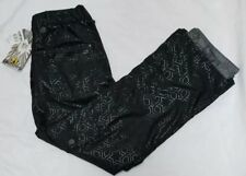 Women's BODY GLOVE Black Snowboard Winter Ski Pants Black Brand New Size M