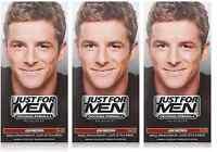 Just For Men Original Formula HairColor, Ash Brown H-20 (3 Pack)
