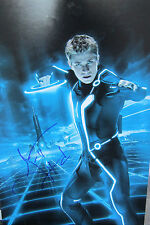 Garrett Hedlund Signed 11x14 Tron Photo