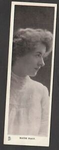 Postcard Maude Fealy silent film American actress Bookmark by Raphael Tuck