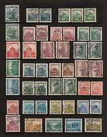 (YYAG 853) Bohemia Moravia 1939 - 1941 USED TYPE WWII Germany Czechoslovakia