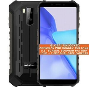 """ULEFONE ARMOR X9 PRO RUGGED 4gb 64gb Waterproof 5.5"""" Face Id Android 11 NFC 4g"""