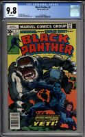 Black Panther 5 CGC Graded 9.8 NM/MT Marvel Comics 1977