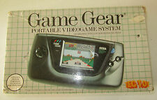 Sega Game Gear TEC TOY RARO con scatola CONDENSATORI NUOVI Console SPESE GRATIS