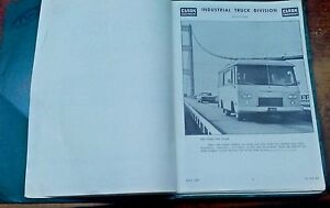 Clark Equipment Operators Manual for a Cortez motor-home