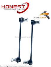 Per NISSAN QASHQAI 07-11 barre di collegamento lowerstabiliser ANTERIORE L/R x2 karlmann NUOVO