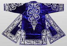 Stunning Uzbek Silk Embroidered Robe Chapan From Bukhara A1890