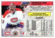 1993-94 Topps Premier Promos Sample #1 Patrick Roy
