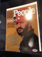 Ringo Starr Beatles Drummer Hand-Signed Autograph PSA/DNA COA full letter!