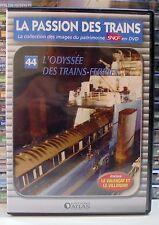 44 dvd la passion des trains atlas l'odyssée des trains ferries