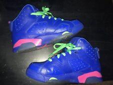 Nike Air Jordans Retro Blue &pink 1.5 Youth