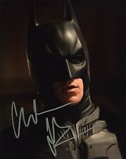 Christian Bale Dark Knight Autographed 8x10 Signed Photo Reprint