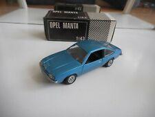 GM Motors Opel Manta in Blue on 1:43 in Box