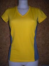 Tee shirt  à manches courtes  femme HANES , jaune en S (7860)