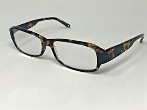 "FREUDENHAUS ""MUNICH"" Eyeglasses Frame Germany George 54-16-135 Brown Tort MC22"