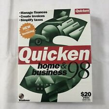 Quicken Home And Business 98' - Vintage Software