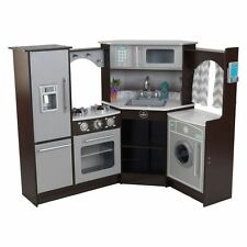 NEW KidKraft Ultimate Corner Play Kitchen, Espresso