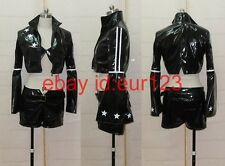 Black Rock Shooter Black Gold Saw Cosplay Costume