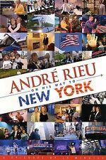 Andr' Rieu on His Way to New York (DVD, Dec-2007, Polydor)